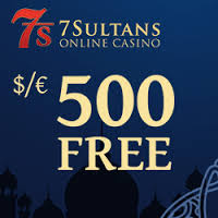 Check out 7Sultans $/€500 Free